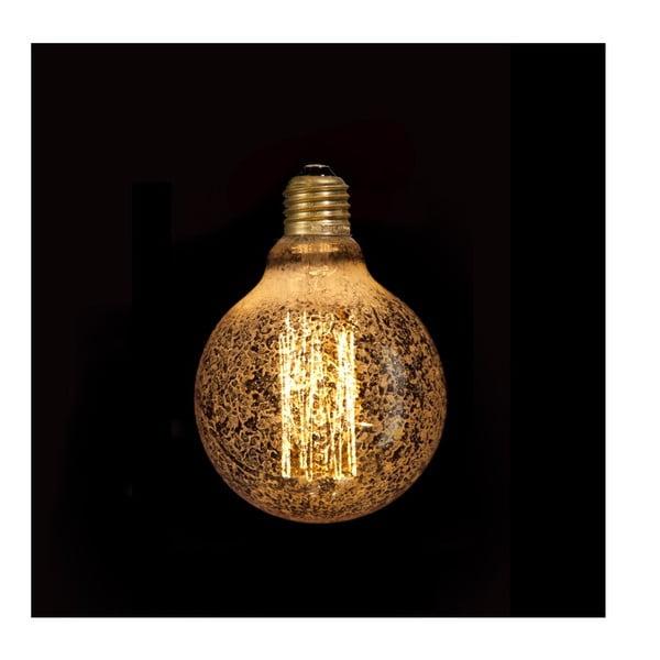 Wolframová dekoratívná žiarovka Gold Globe, 40W