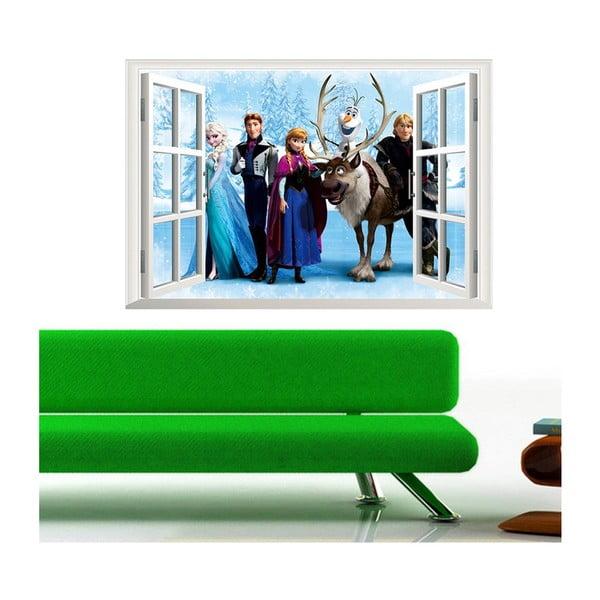 Samolepka s 3D efektom Fanastick Frozen