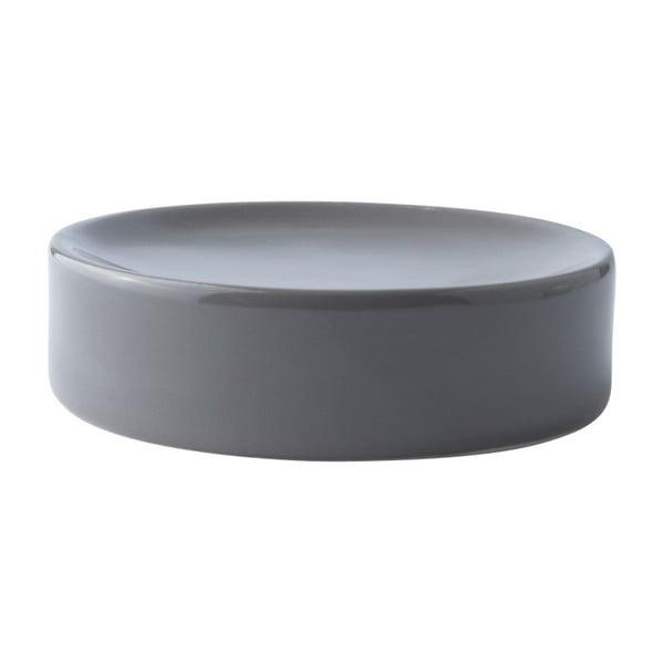 Sivá podložka na mydlo Galzone