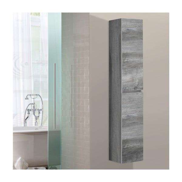 Kúpeľňová závesná skrinka Column, vintage dekor
