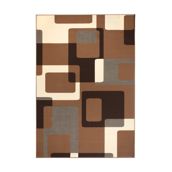 Hnedý koberec Hanse Home Hamla Retro, 120x170 cm