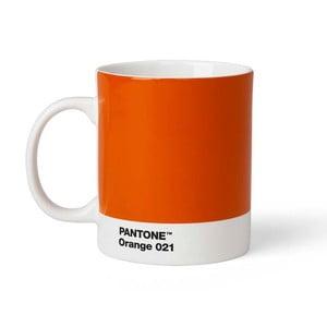 Oranžový hrnček Pantone, 375 ml