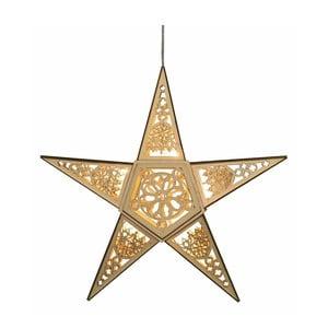 Svietiaca dekorácia Christmas Star