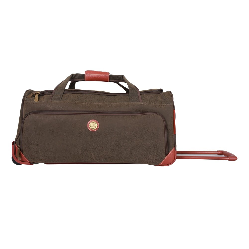 25f27bc59fedd Cestovná taška na kolieskach Jean Louis Scherrer Khaki, 60 l
