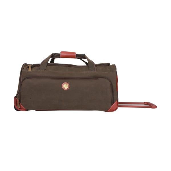 Cestovná taška na kolieskach Jean Louis Scherrer Khaki, 60 l