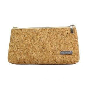 Horčicovohnedá kozmetická taštička Dara bags Baggio Middle No.750