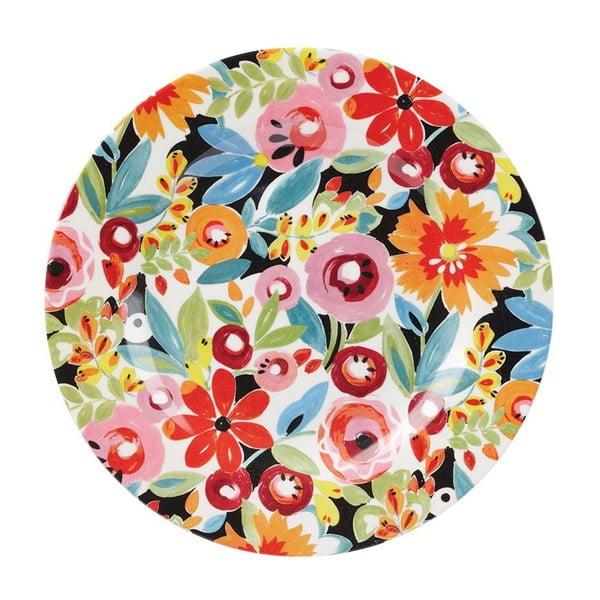 Dezertný tanier Churchill China Collier Campbell Flowerdrop, 20,3 cm