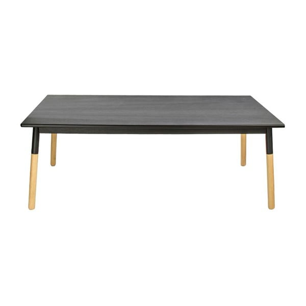 Jedálenský stôl Mikado Black, 190x73x90 cm