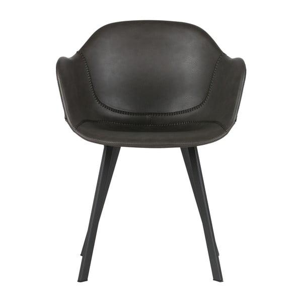 Sada 2 čiernych stoličiek WOOOD Freek