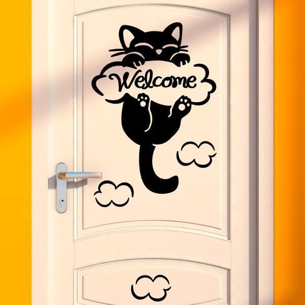 Samolepka Fanastick Cat, 10×10 cm