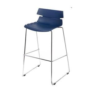 Barová stolička D2 Techno, modrá