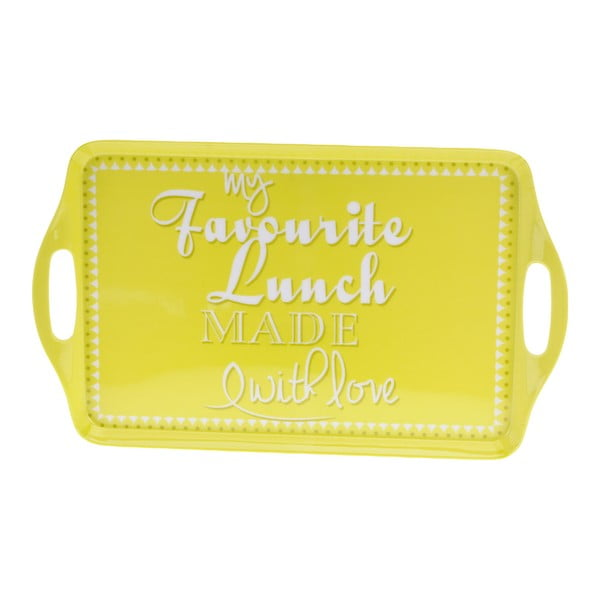 6-dielna kempingová sada riadu Postershop My Favourite Lunch