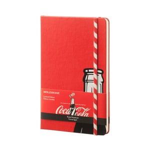 Zápisník Moleskine Coca-Cola Straw, veľký, linkovaný