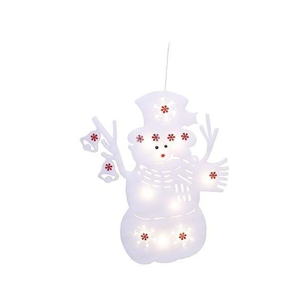 Svietiaca dekorácia Snowman Silhouette