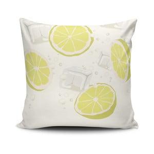 Vankúš s prímesou bavlny Cushion Love Lemons, 45 × 45 cm