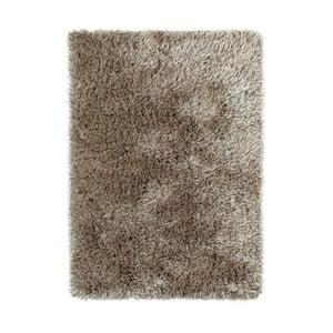 Hnedý ručne tuftovaný koberec Think Rugs Monte Carlo Mink, 100×150 cm