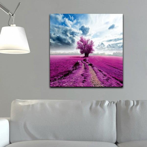 Obraz Fialová, 60x60 cm