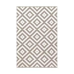 Béžovo-sivý obojstranný koberec vhodný aj do exteriéru Green Decore Ava, 60 × 90 cm
