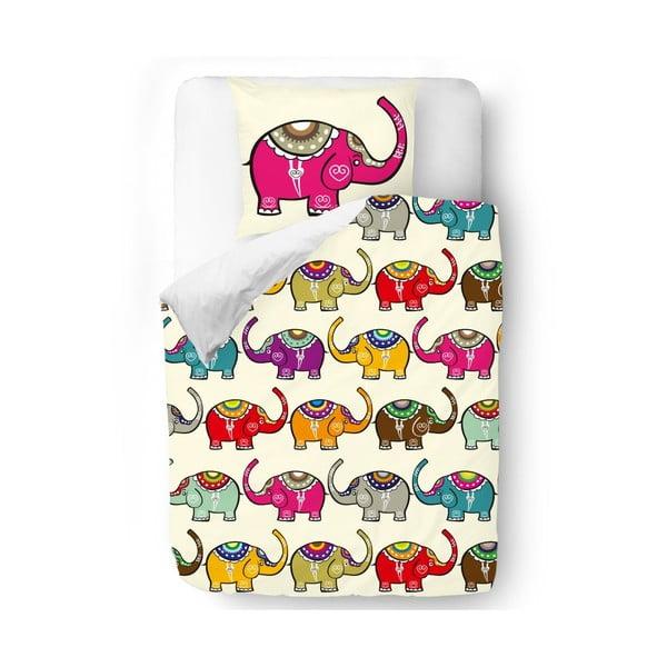 Obliečky Pink Elephant, 140x200 cm