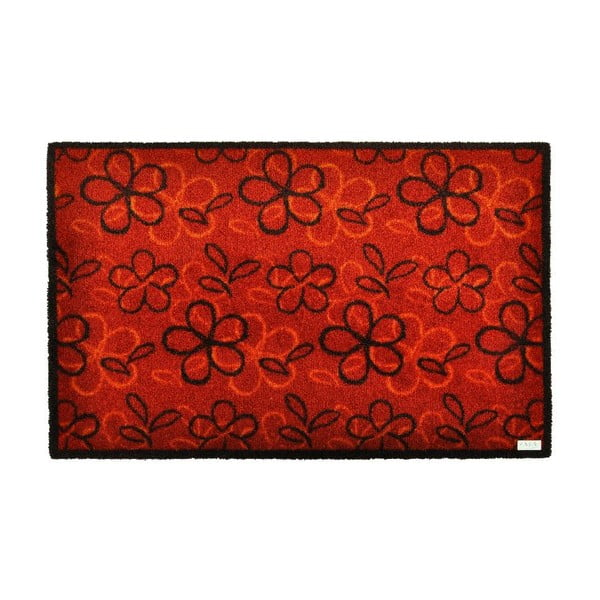 Rohožka Zala Living Floral Red, 50×70cm