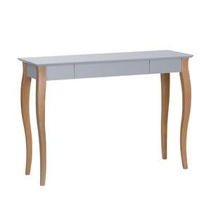 Tmavosivý písací stôl Ragaba Lillo,dĺžka105cm