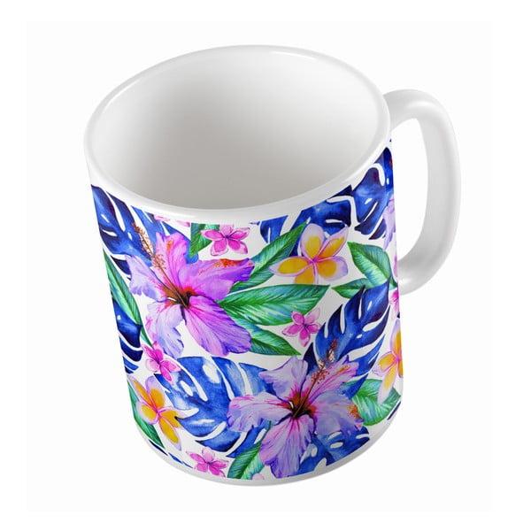 Keramický hrnček Magic Flower, 330 ml