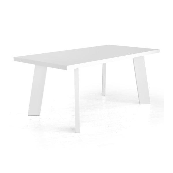 Jedálenský stôl Patos, biely