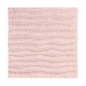 Ružová kúpeľňová predložka Aquanova Taro, 60x60cm