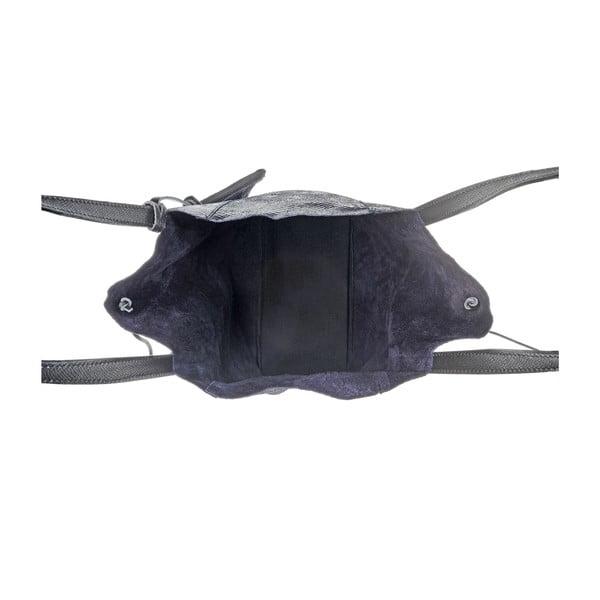 Kožená kabelka Soft Black