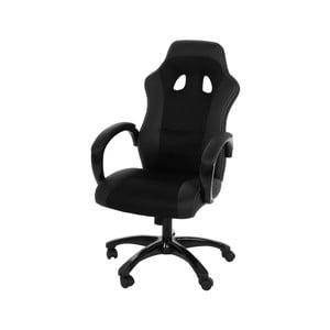Čierna kancelárska stolička Actona Race