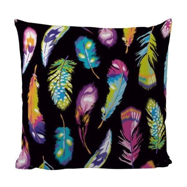 Vankúš Neon Feathers, 50x50 cm