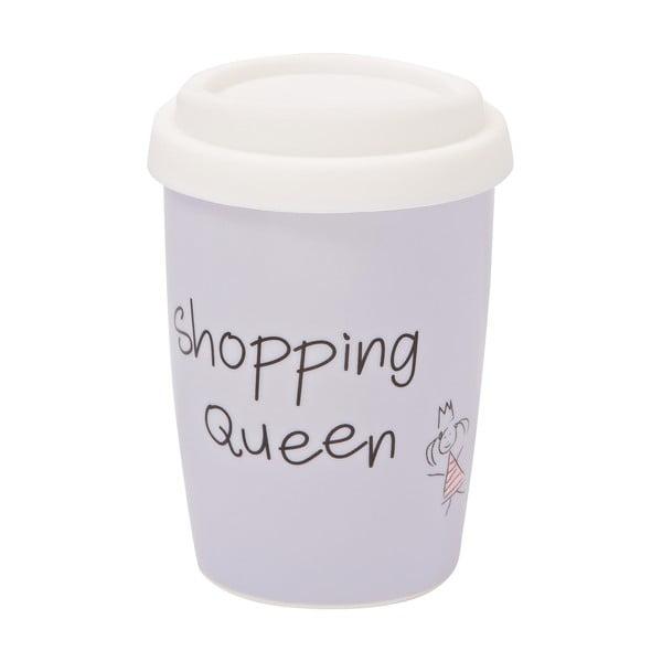 Menší cestovný hrnček Shopping Queen