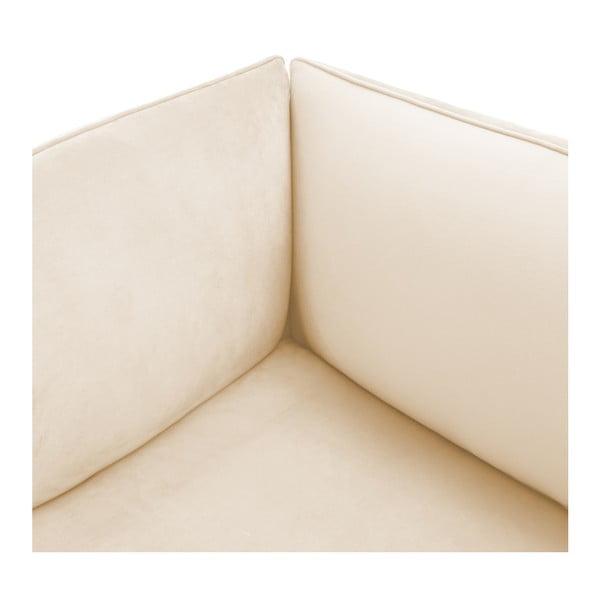 Pieskovobéžová trojmiestna modulová pohovka Vivonita Velvet Cube