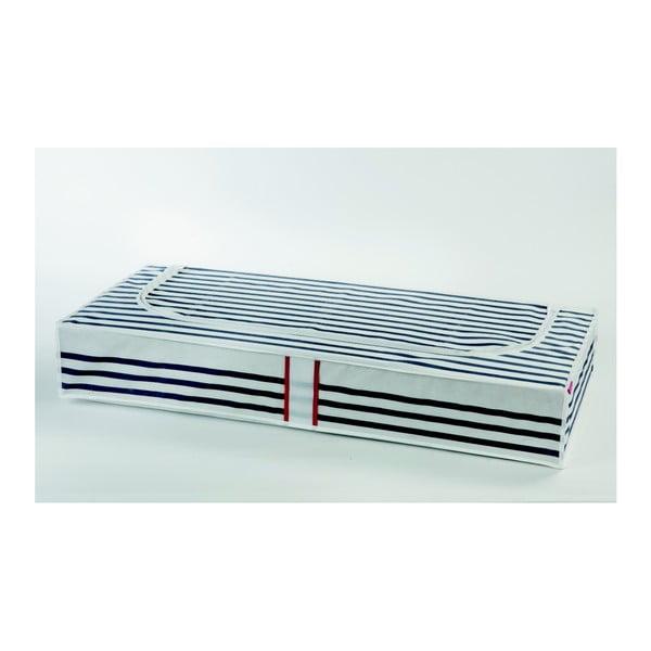Úložná škatuľa na oblečenie pod posteľ Compactor Stripes