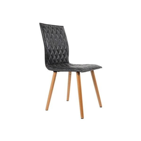 Tmavosivá stolička Andy
