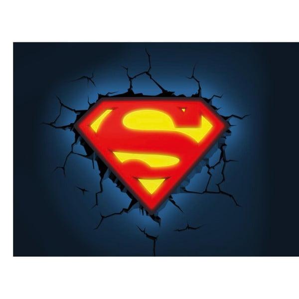 Nástenné svetlo s nálepkou Tnet Superman