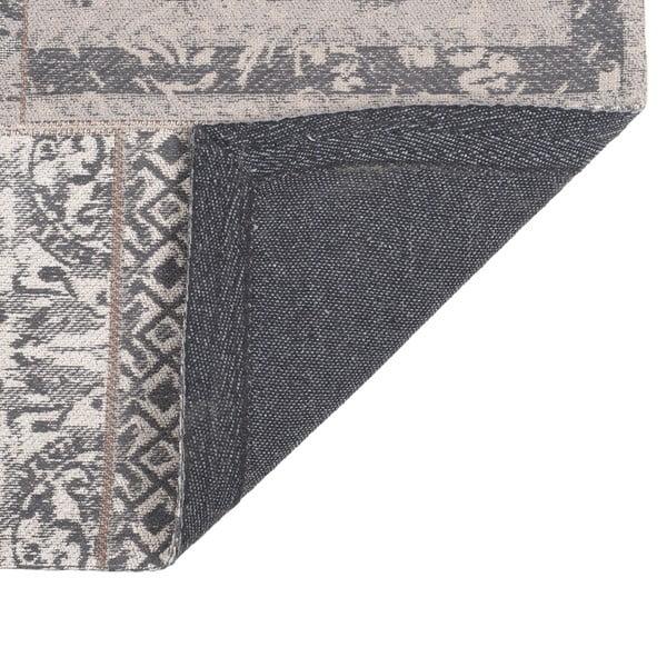 Koberec Chenille, 160x210 cm, sivo-béžový