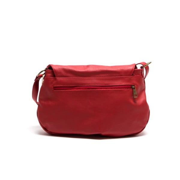 Kožená kabelka Isabella Rhea 2053, červená