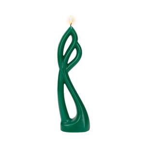Zelená sviečka Alusi Ava, 8 hodín horenia
