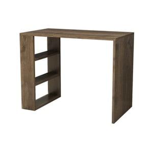 Pracovný stôl v dekore orechového dreva Muzzo Cool