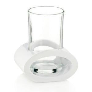 Biely pohár s držiakom Kela Mirage