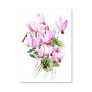 Plagát Pink Cyclamen od Suren Nersisyan