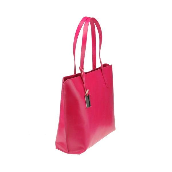 Kožená kabelka Vega, ružová