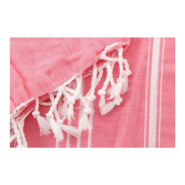 Hammam osuška Sultan Pink, 100 x 180 cm