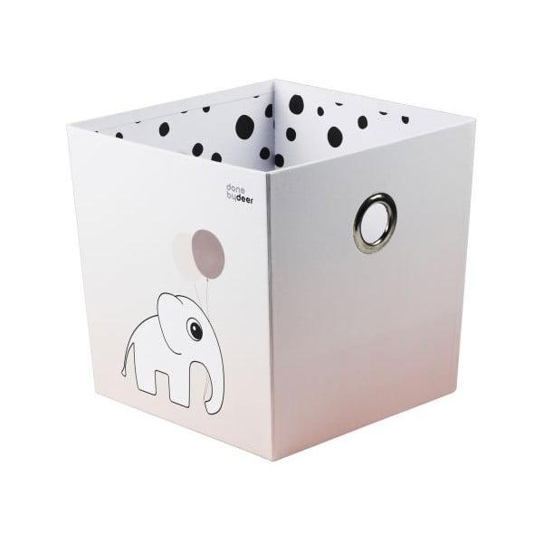 Úložný box Happy Dots, ružový