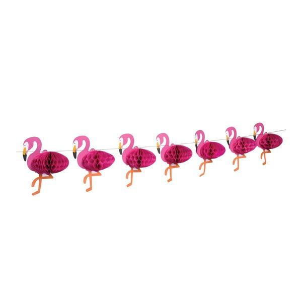 Girlanda Rex London Flamingo Honeycomb