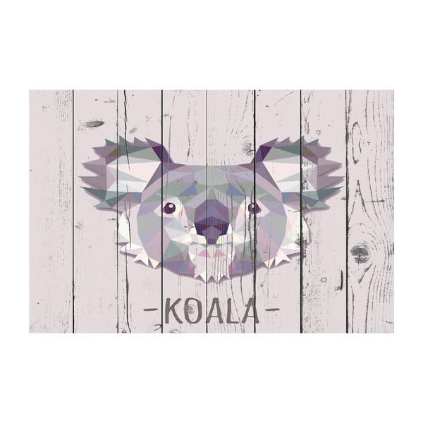 Vinylový koberec Koala, 100x150 cm