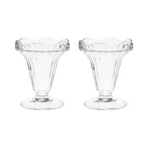 Sada 2 dezertných pohárov, 12,5 cm