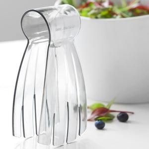 Sivé šalátové kliešte Steel Function Salad Hand