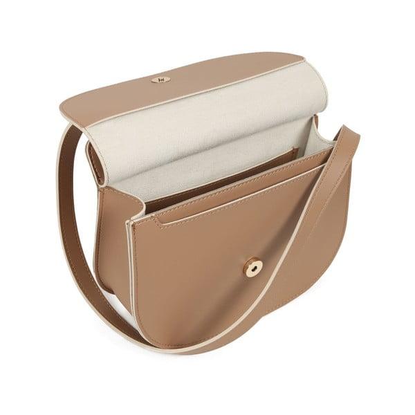 Hnedá kabelka z eko kože Beverly Hills Polo Club Carla